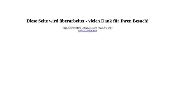 Vorschau von www.die-schachaufgabe.de, Die Schachaufgabe