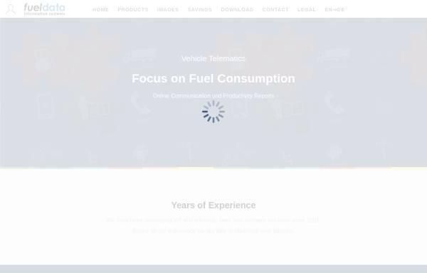 Vorschau von www.fueldata.com, Fueldata Information Systems GmbH