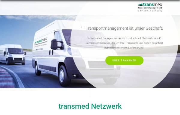 Vorschau von www.transmed.de, Transmed Transport GmbH