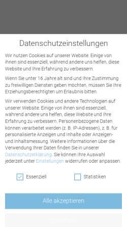 Vorschau der mobilen Webseite www.fischerandfriends.com, Fischerandfriends GmbH