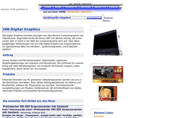 Vorschau von www.hw-digital.de, HW Digital Graphics Werner Hennig