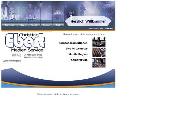 Vorschau von www.ms-ebert.de, Medien-Service Christian Ebert