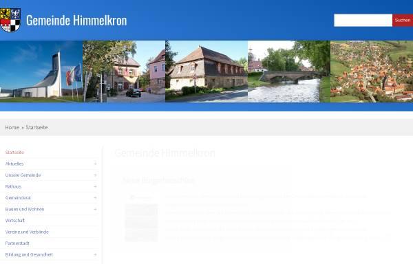 Vorschau von www.himmelkron.de, Gemeinde Himmelkron (Lanzendorf, Gössenreuth)