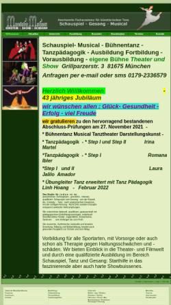 Vorschau der mobilen Webseite www.mandolin-motions.de, Mandolin Motions