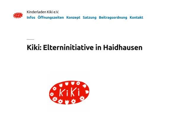 Vorschau von www.kindergarten-kiki.de, Eltern-Kind-Initiative KiKi e.V.