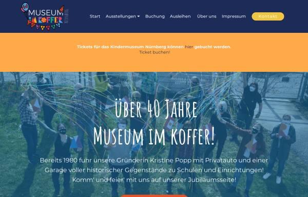 Vorschau von www.museum-im-koffer.de, Kindermuseum