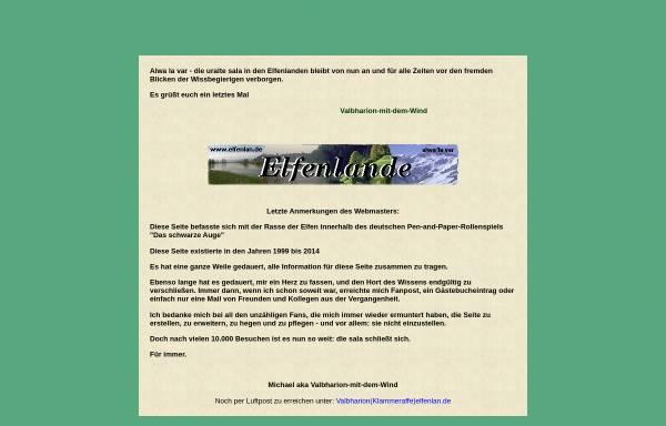 Vorschau von www.elfenlan.de, Alwa'la var