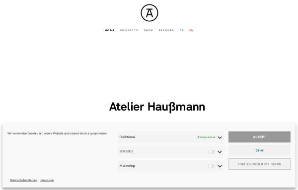 Vorschau von www.atelierhaussmann.de, Atelier Haußmann