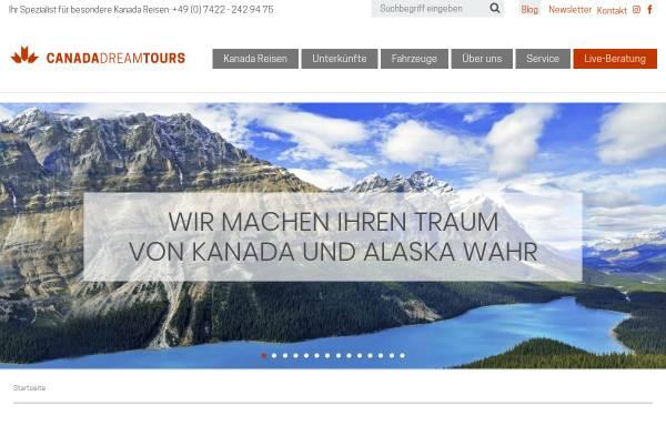 Vorschau von www.kanadareise.de, Canada Dream Tours