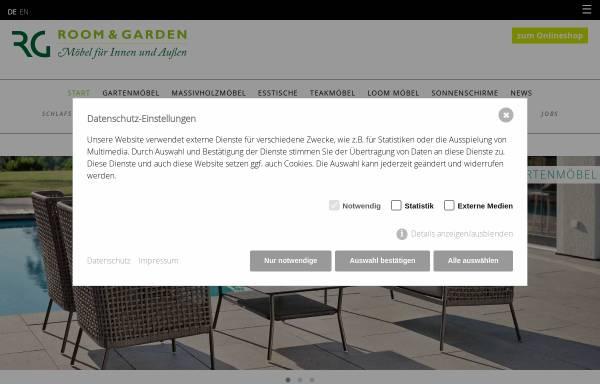 Room & Garden, Theisen & Hantsch GbR: Möbel und Inneneinrichtung ...