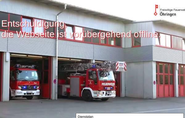 Vorschau von ff-oehr.de, Freiwillige Feuerwehr Öhringen