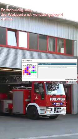 Vorschau der mobilen Webseite ff-oehr.de, Freiwillige Feuerwehr Öhringen