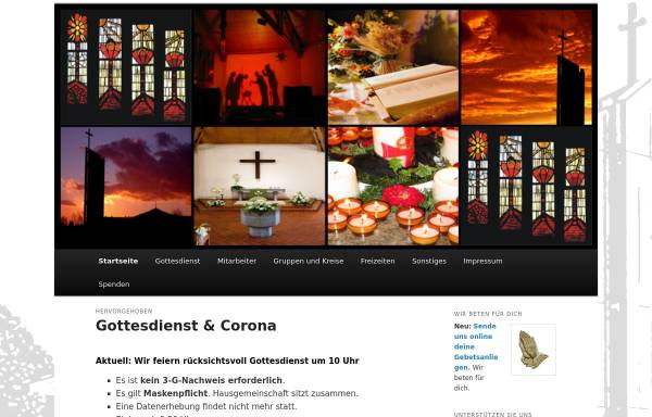 Vorschau von www.petrusgemeinde-rastatt.de, Evangelische Petrusgemeinde Rastatt