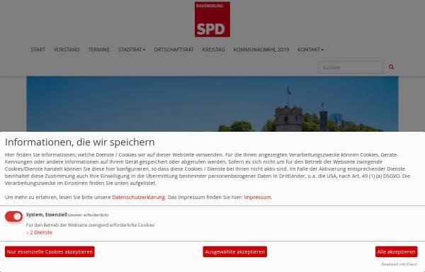 Vorschau von spd-ravensburg.de, SPD Ravensburg