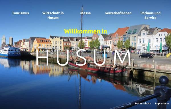 Vorschau von www.husum.org, Stadt Husum