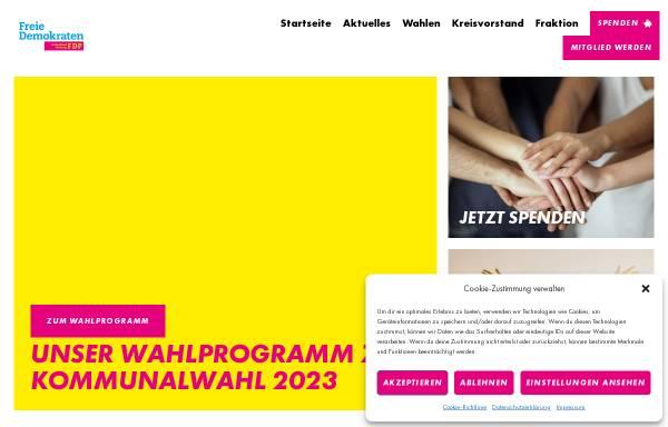 Vorschau von www.fdp-flensburg.de, FDP Flensburg