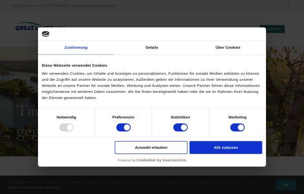 Vorschau von www.greatlakes.de, Great Lakes.de