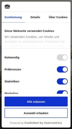 Vorschau der mobilen Webseite www.greatlakes.de, Great Lakes.de