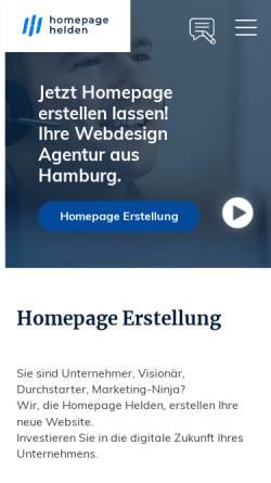 Vorschau der mobilen Webseite www.exinit.de, Exinit GmbH