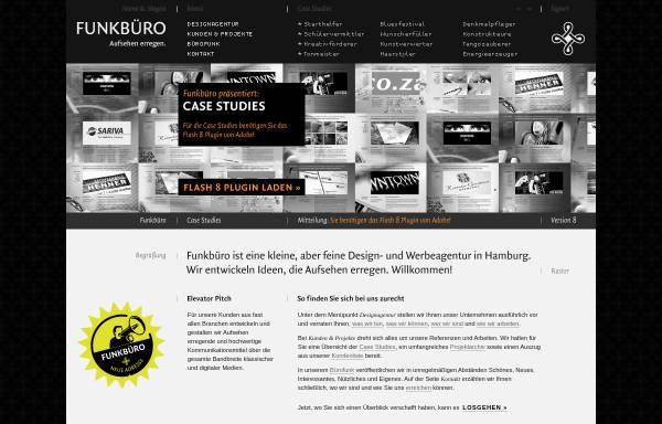 Vorschau von funkbuero.de, Funkbüro Medien & Gestaltung GmbH