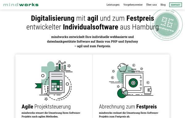 Vorschau von www.mindworks.de, mindworks GmbH