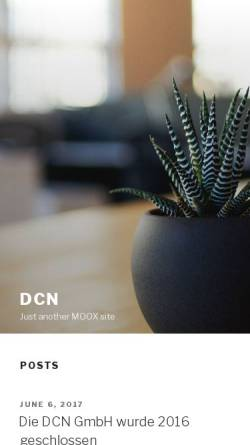 Vorschau der mobilen Webseite www.dcn.de, DCN GmbH