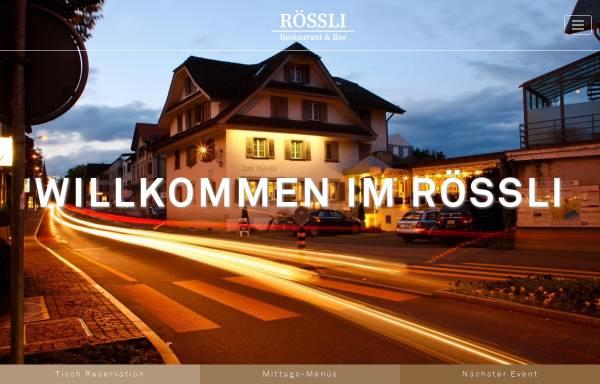 Vorschau von www.restaurant-roessli.ch, Restaurant Rössli - Cavallino