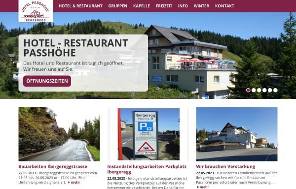 Vorschau von www.ibergeregg.ch, Hotel Passhöhe, Ibergeregg