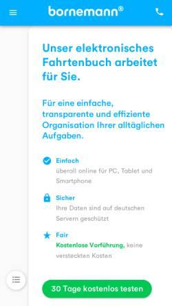 Vorschau der mobilen Webseite www.fahrtenbuch.de, Fahrtenbuch.de by Dipl.-Ing. Mey Mark Meyer