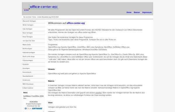 Vorschau von www.office-center-epj.de, Office-Center EPJ