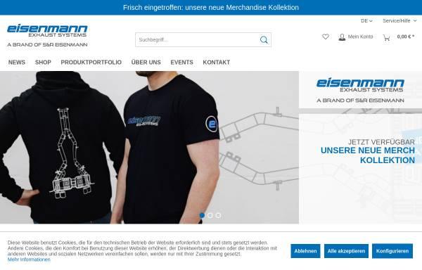 Vorschau von eisenmann-exhaust-systems.de, Eisenmann GmbH