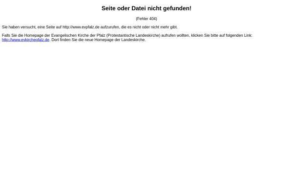 Vorschau von www.evpfalz.de, Bibliothek und Medienzentrale der Evangelischen Kirche der Pfalz