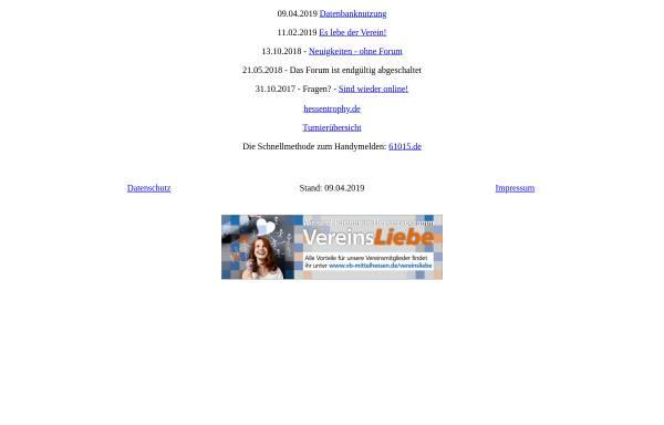 Vorschau von www.flyball-hessen.de, Flyball Hessen