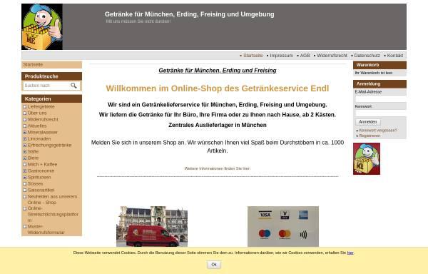 Getränkelieferservice Michael Endl: Wirtschaft, Erding getraenke-endl.de