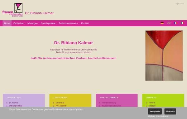 Vorschau von www.frauenmedizin.at, Dr. Kalmar