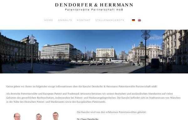 Vorschau von www.patent.de, Patentanwälte Wächtershäuser & Hartz