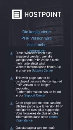 Vorschau der mobilen Webseite manuel.ch, Manuels Riven Seite