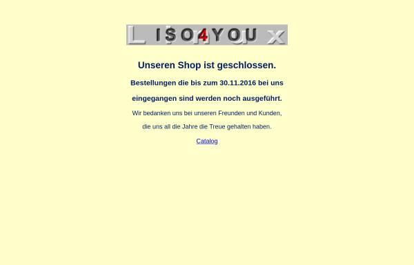 Vorschau von www.iso4you.de, ISO4you, Tanja Radegast