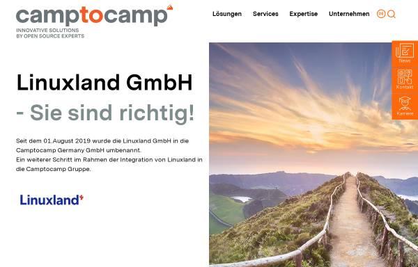 Vorschau von www.linuxland.de, LinuxLand International GmbH
