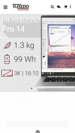 Vorschau der mobilen Webseite www.linux-onlineshop.de, Linux-Onlineshop Ltd.
