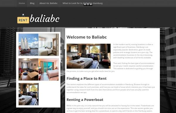 Vorschau von www.balimotorrad.de, Bali Biker Reisen und Motorrad Touren