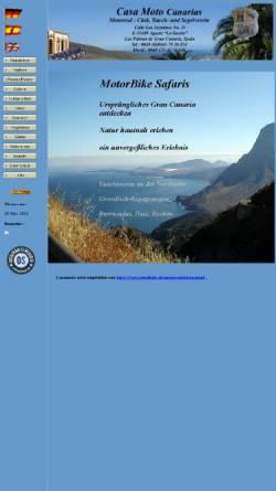 Vorschau der mobilen Webseite www.casamoto.eu, Casa Moto