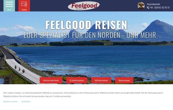 Vorschau von www.feelgoodreisen.de, Feelgood Reisen