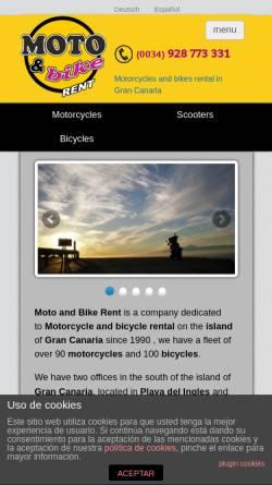 Vorschau der mobilen Webseite www.motoandbike.com, Moto & Bike