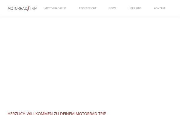 Vorschau von www.motorrad-trip.de, Motorrad-Trip