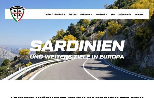 Vorschau von www.sarda-moto-tours.de, Sarda Moto Tours