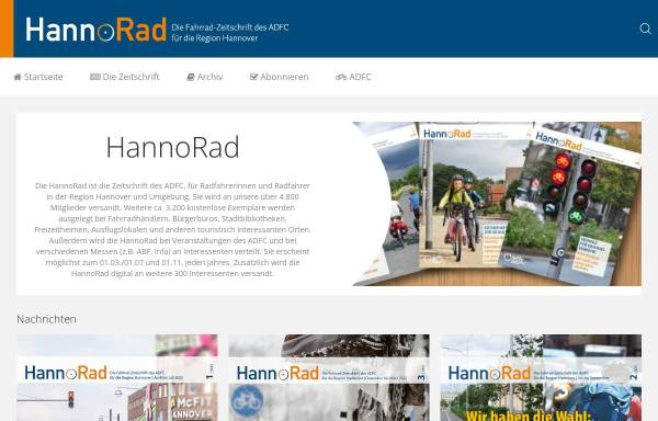 Vorschau von www.hannorad.de, HannoRad