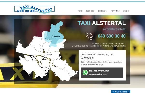 Vorschau von www.taxialstertal.de, Taxi Alstertal