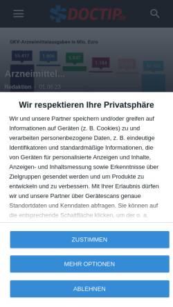 Vorschau der mobilen Webseite www.doctip.de, Dr. med. Gerhard Hinrichsen