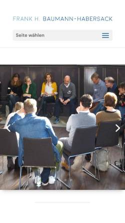 Vorschau der mobilen Webseite www.baumannpartner.com, Baumann.partner Ltd. & Co. KG